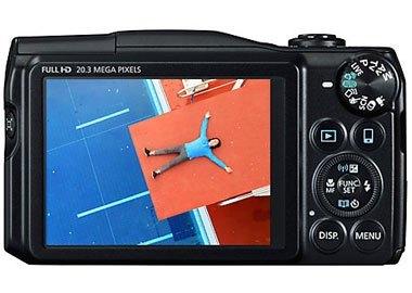 Máy ảnh kỹ thuật số Canon PowerShot SX710HS black tự động hỗ trợ khung zoom
