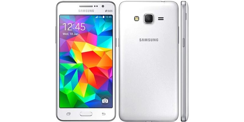 Điện thoại Samsung Galaxy Grand Prime G530H trắng giá rẻ có bán tại nguyenkim.com