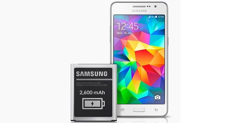Điện thoại Samsung Galaxy Grand Prime G530H trắng có màn hình 5 inch
