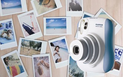 Máy ảnh Fuji Instax Mini 25 xanh khuyến mãi hấp dẫn