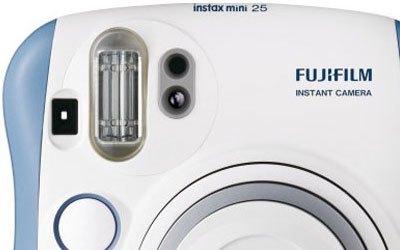 Máy ảnh Fuji Instax Mini 25 xanh in ảnh nhanh chóng