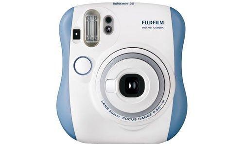 Máy ảnh Fuji Instax Mini 25 xanh giá tốt có bán tại nguyenkim.com