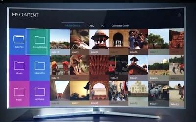 Tivi Led Samsung UA55JU6600 55 inch màn hình cong chất lượng cao