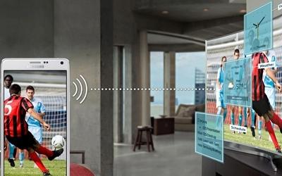 Smart Tivi Led Samsung UA55JU6600 55 inch kết nối thiết bị di động dễ dàng