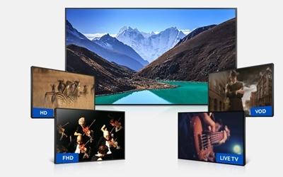 Tivi Led Samsung UA55JU6600 55 inch được cải tiến cho chất lượng hình ảnh vượt trội