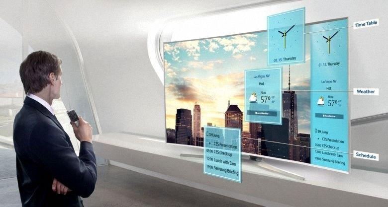 Tivi LED Samsung UA75JU6400 với nhiều tính năng tiện dụng