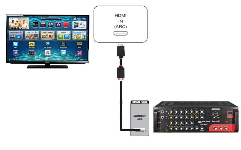 Hát karaoke chỉ với Smart TV và amply