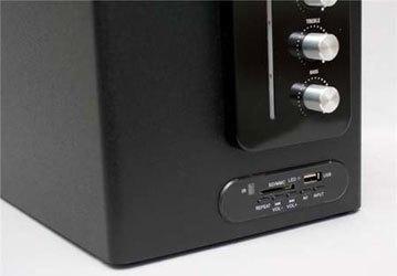 Loa vi tính Soundmax A2117 đọc dữ liệu USB và thẻ nhớ