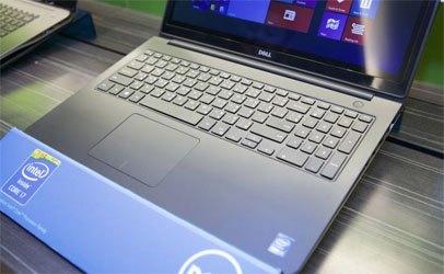 Laptop Dell Inspiron N5548A với bàn phím dễ sử dụng