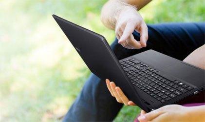 Laptop Acer E5 571G sở hữu nét đẹp cổ điển