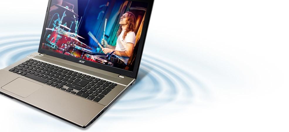 Acer Aspire V3-371-33XH-NX.MPGSV.003, bộ vi xử lý Core i5-4210U 1.7GHz, chip Intel HD Graphics 4400, Aspire V3 371 có mặt lưng được làm bằng chất liệu nhôm cao cấp, kích thước mỏng chỉ 19.5 mm và trọng lượng chỉ 1.5 kg