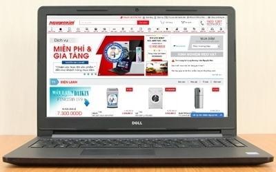 Mua máy tính xách tay Dell Inspiron 3551 trả góp tại Nguyễn Kim