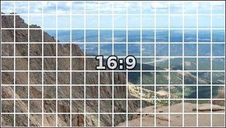 Màn hình máy tính Dell E2215HV có tỉ lệ 16:9
