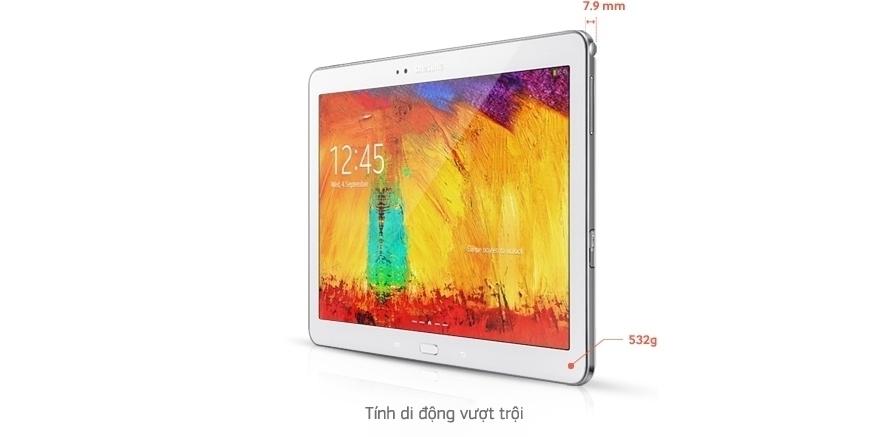 Máy tính bảng Samsung Galaxy Note 10.1 2014/SM-P601 - THIẾT KẾ ĐẲNG CẤP & DI ĐỘNG
