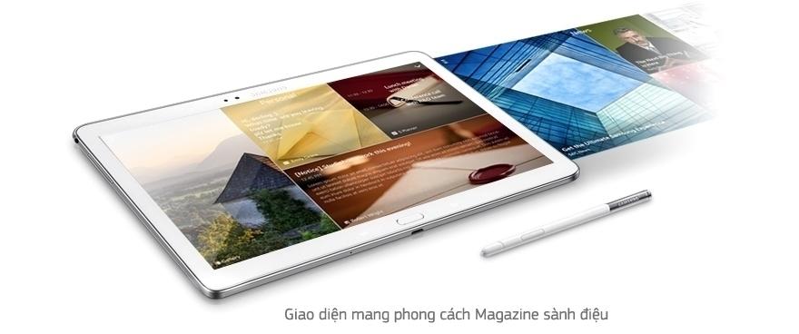 Máy tính bảng Samsung Galaxy Note 10.1 2014/SM-P601 - MÀN HÌNH HÓA PHONG CÁCH