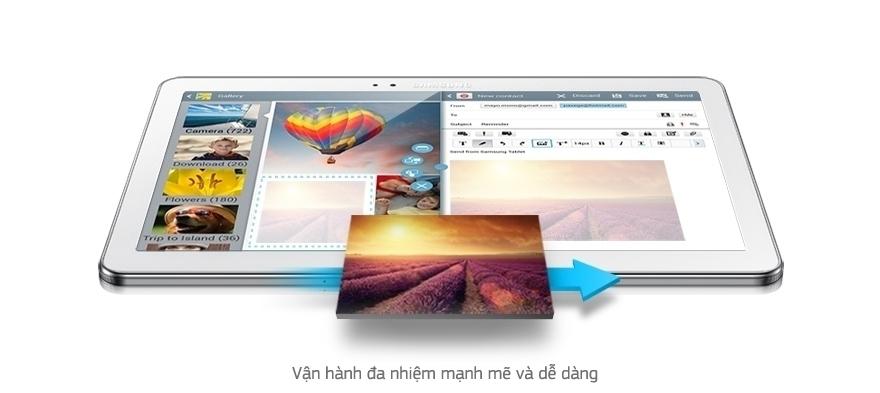 Máy tính bảng Samsung Galaxy Note 10.1 2014/SM-P601 - MULTI WINDOW (VẬN HÀNH ĐA NHIỆM)