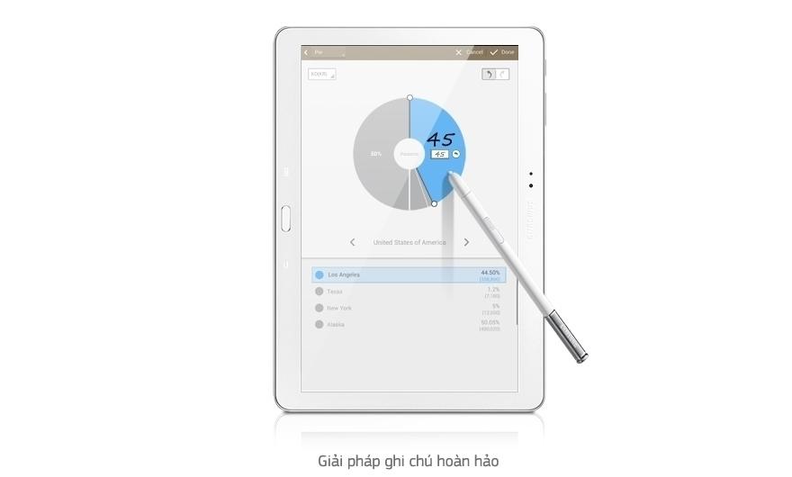Soạn thảo & quản lý ghi chú dễ dàng và nhanh chóng hơn nhờ máy tính bảng Samsung Galaxy Note 10.1 2014/SM-P601