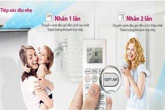 Máy lạnh LG V13APM tiếp xúc dịu nhẹ. Giá tốt tại Nguyễn Kim