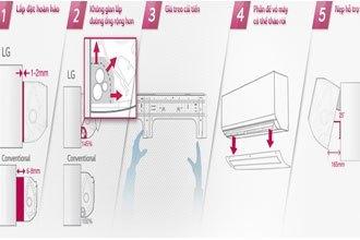 Mua máy lạnh LG V13APM xua muỗi ở đâu tốt
