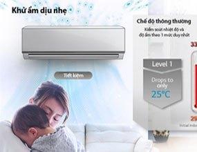 Máy lạnh LG V13APM khử ẩm dịu nhẹ