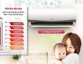 Mua máy lạnh LG V13APM xua muỗi giá tốt ở đâu