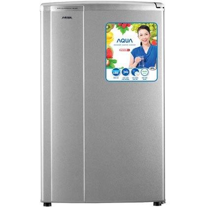 Tủ lạnh Aqua mini AQR-95AS (SS) sử dụng đèn LED chiếu sáng, tiết kiệm