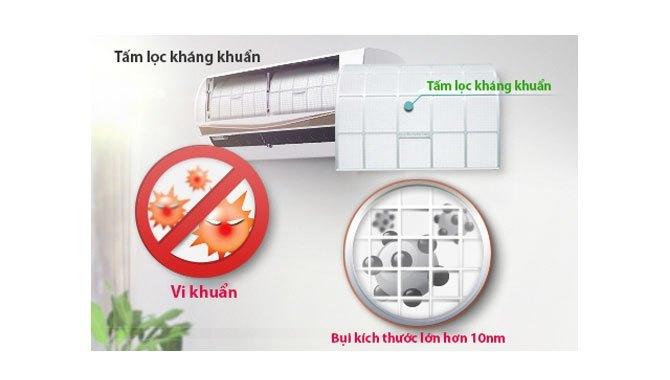 Tấm lọc kháng khuẩn máy lạnh LG V18ENC 2 HP