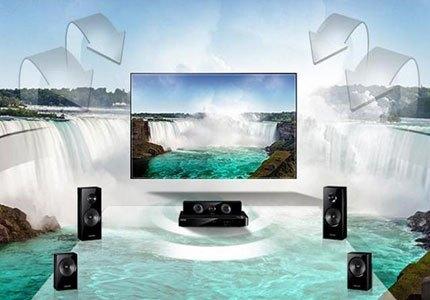 TIVI LED SAMSUNG UA48J5500AKXXV âm thanh hình ảnh vượt trội