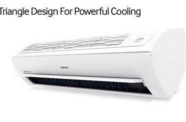 Máy lạnh Samsung AR18JCFSSURNSV thiết kế tam diện độ đáo