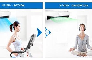Mua máy lạnh ở đâu tốt. Máy lạnh Samsung AR18JCFSSURNSV 2 ngựa giá tốt