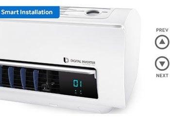 Máy lạnh Samsung AR12JSFNJWKNSV máy lạnh trả góp tại diennangluongmattroi.vn