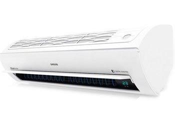 Máy lạnh Samsung AR09JPFNJWKNSV thiết kế tam diện đẹp mắt, làm lạnh nhanh
