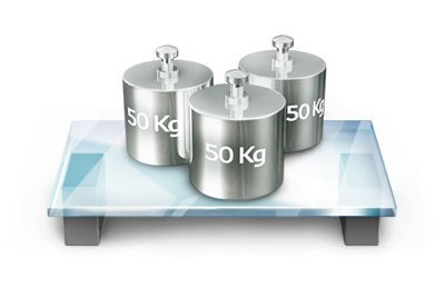 Tủ lạnh LG GR-L392MG trang bị khay kính chịu được sức nặng 150 kg giúp tủ lạnh nhà bạn trữ được nhiều thực phẩm và sang trọng.