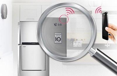 Với chẩn đoán thông minh, tủ lạnh LG GR-L392M cho bạn giải pháp hoàn hảo cho những trục trặc xảy ra mà bạn không cần đợi kĩ thuật viên đến nhà
