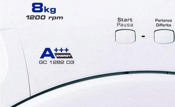 Máy giặt loại nào tốt? Máy giặt Candy GC1282D3/1-S 8 kg