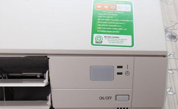 Máy lạnh Daikin FTNE25MV1V9 1 HP có tính năng tự khởi động lại