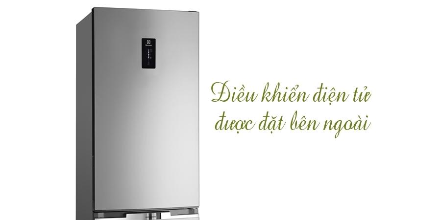 Tủ lạnh Electrolux EBE3500AG 340 lít có điều khiển bên ngoài