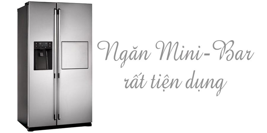 Tủ lạnh loại nào tốt? Tủ lạnh Electrolux ESE5687SB-TH 549 lít