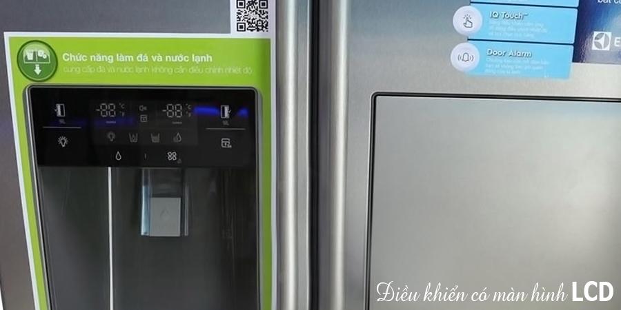 Tủ lạnh Electrolux ESE5687SB-TH 549 lít sử dụng bền tốt