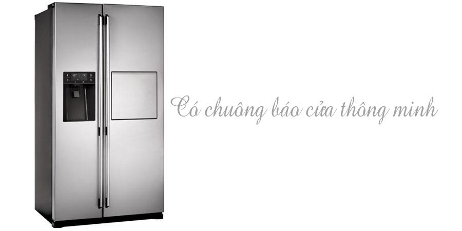 Tủ lạnh Electrolux ESE5687SB-TH 549 lít có chuông báo cửa