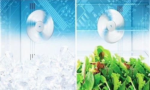 Tủ lạnh Hitachi R-W660PGV3 540L với công nghệ làm lạnh kép hiệu quả