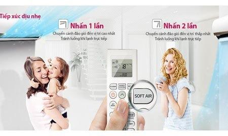 Máy lạnh LG V13APC tiếp xúc dịu nhẹ