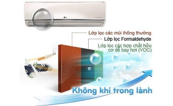 Máy lạnh loại nào tốt? Máy lạnh LG S09ENA 1 HP