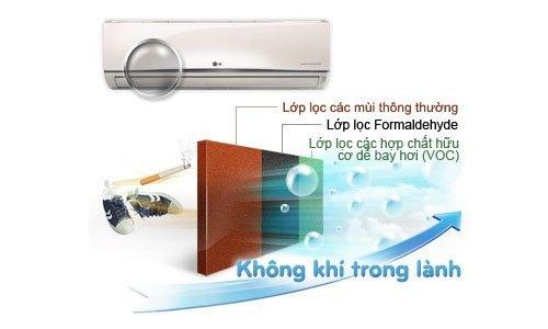 Máy lạnh LG S12ENA 1.5 HP giảm giá tại diennangluongmattroi.vn