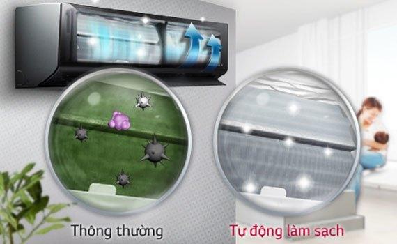 Máy lạnh loại náo tốt? Máy lạnh LG V13BPB 1.5 HP