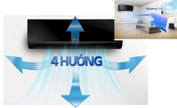Máy lạnh LG V13BPB 1.5 HP giá tốt tại diennangluongmattroi.vn