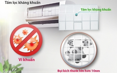 Máy điều hòa LG V13ENC 1.5 HP giảm giá tại diennangluongmattroi.vn