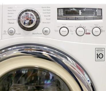 Máy giặt LG WD-23600 có 12 chương trình giặt