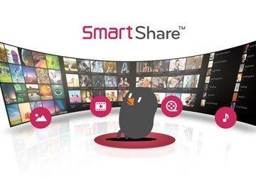 Ứng dụng chia sẻ thông minh Smart Share trên Tivi Led LG 43LF630T