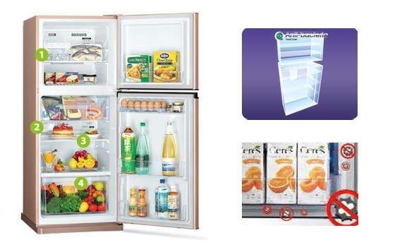Mua tủ lạnh ở đâu tốt? Tủ lạnh Mitsubishi Electric MR-FV32EJ 274 lít